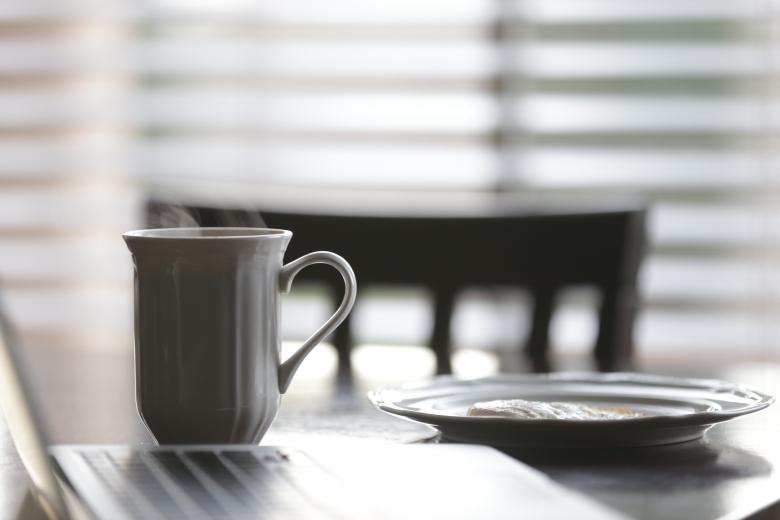 Você notou o cheiro do café e sentiu a textura dos alimentos do seu café da manhã?
