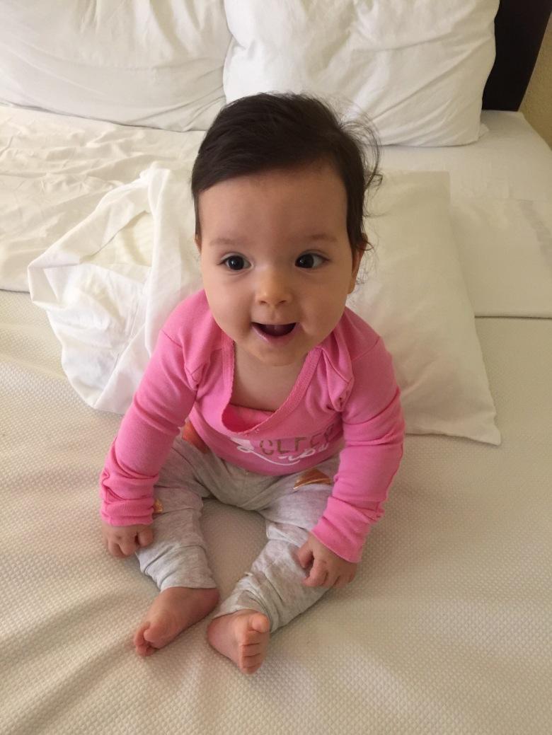Isabella 9 meses