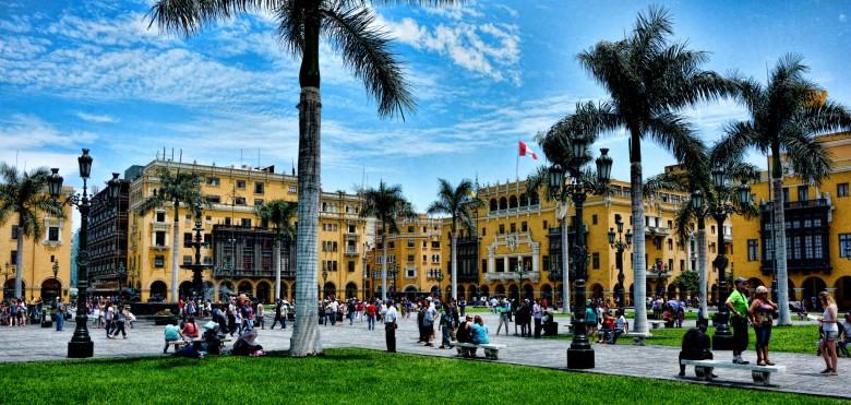 Comece conhecendo o centro de Lima
